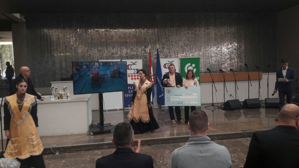 Dević na dodjeli nagrada za sportaše godine grada Splita